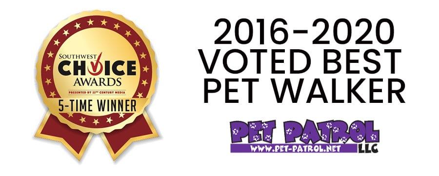 Voted best Pet Walker